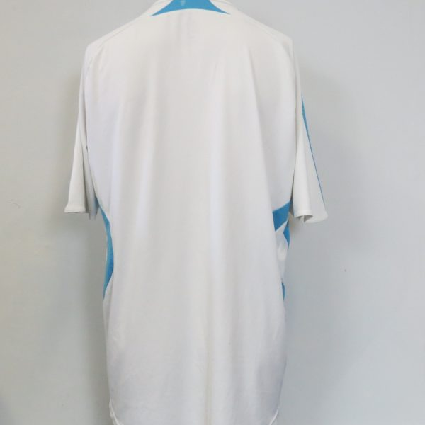 Olympique Marseille 2007-08 home shirt adidas soccer jersey size L (4)