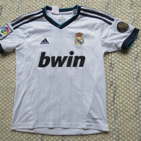 sale retailer 7cd86 27456 Real Madrid 2012-13 LFP home shirt adidas Ronaldo 7 jersey size Boys S 10Y