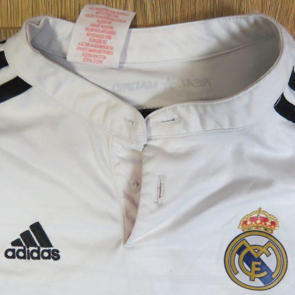Real Madrid 2014-15 LFP home shirt adidas jersey size Boys M 152cm 11-12Y (2)