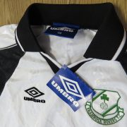 Vintage Shamrock Rovers 1999-00 ls away shirt 158cm 12-13YRS BNWT (2)