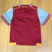 West Ham United 2011-12 home shirt Macron size baby 6-12mth 74cm (2)