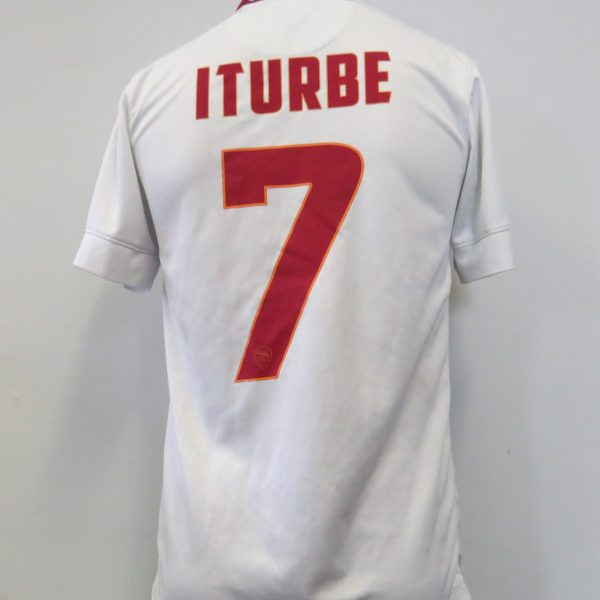 AS Roma 2014-15 away shirt Nike soccer jersey Iturbe 7 size S (1)