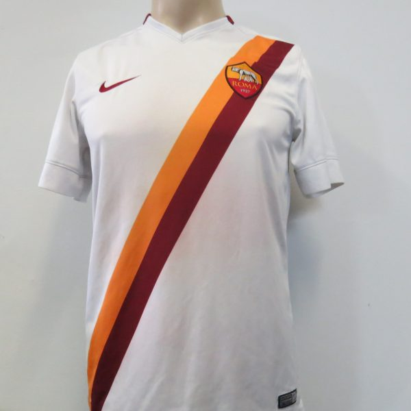 AS Roma 2014-15 away shirt Nike soccer jersey Iturbe 7 size S (2)
