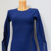 Adidas Alphaskin LS Shirt Compression 360 Tee CE0748 Blue Women's UK 8-10 S BNWT (2)