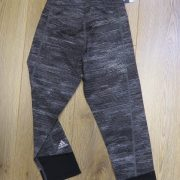 Adidas Black Heather Women Tight Techfit Capri Training Leggings AI2953 size 4-6 XS (2)
