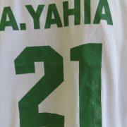 Algeria 2005-06 home shirt Le Coq Antar Yahia 21 soccer jersey size L (4)