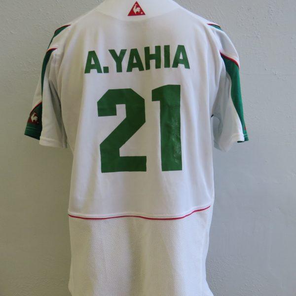 Algeria 2005-06 home shirt Le Coq Antar Yahia 21 soccer jersey size L (5)