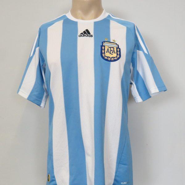 Argentina shirt 2010-11 adidas home soccer jersey size M World Cup 2010 (1)