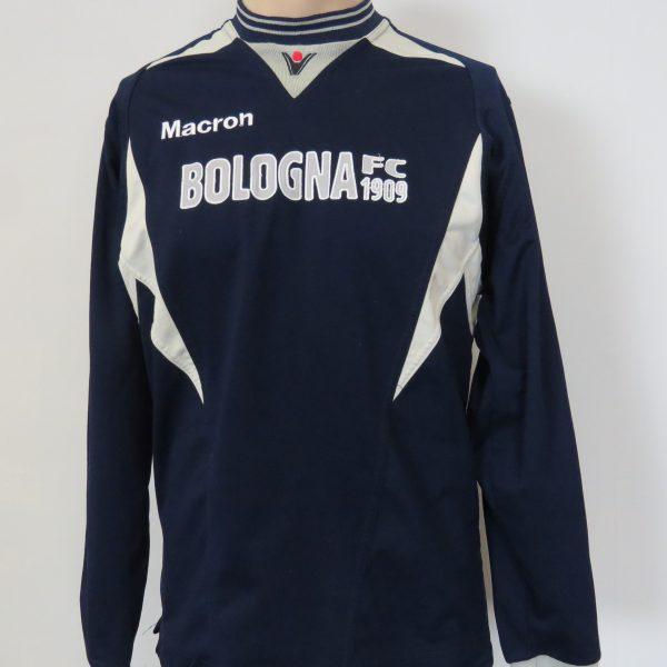 Bologna 2009-10 Centenary training sweater shirt Macron LS soccer jumper size S (1)