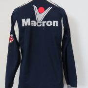 Bologna 2009-10 Centenary training sweater shirt Macron LS soccer jumper size S (2)