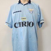 Lazio Roma 1997-98 home shirt Puma soccer jersey size L (1)