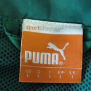 Puma tracksuit jacket green zip top Sports Training size L (2)