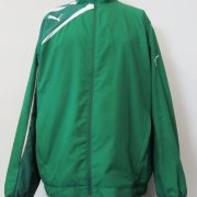 Puma tracksuit jacket green zip top Sports Training size L (5)