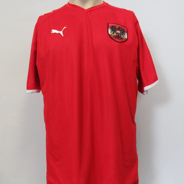 Vintage Austria 2008-09 home shirt Puma soccer jersey size L EURO2008 (1)
