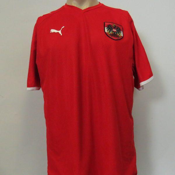 Vintage Austria 2008-09 home shirt Puma soccer jersey size L EURO2008 (8)