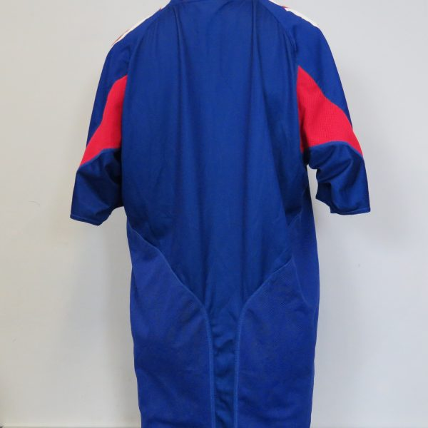 Vintage France 2004-06 home shirt adidas size L Euro 2004 4 signatures Zidane Barthez (2)