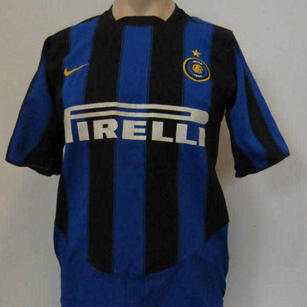 Vintage Inter Milan 2003-04 home shirt Nike soccer jersey size S Internazionale (8)