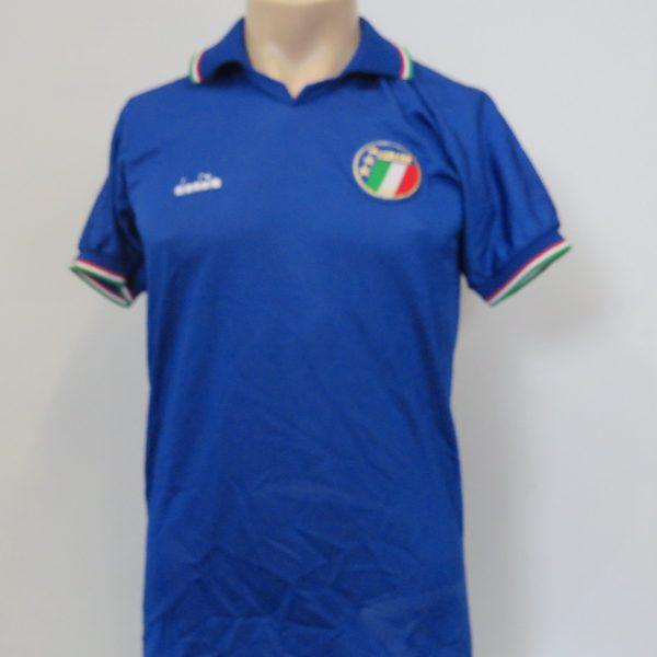 Vintage Italy 1986-90 home shirt Diadora Italia retro World Cup 1990 size S (1)