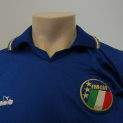 Vintage Italy 1986-90 home shirt Diadora Italia retro World Cup 1990 size S (2)
