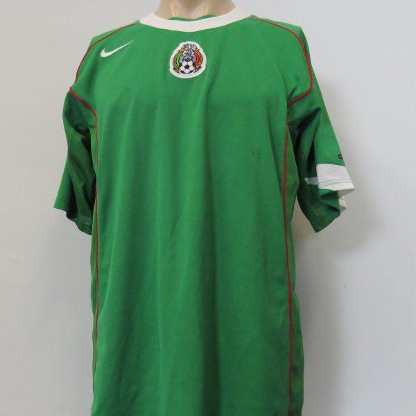 773122ffd Vintage Mexico 2004-06 home shirt Nike dri-fit soccer jersey size L ...