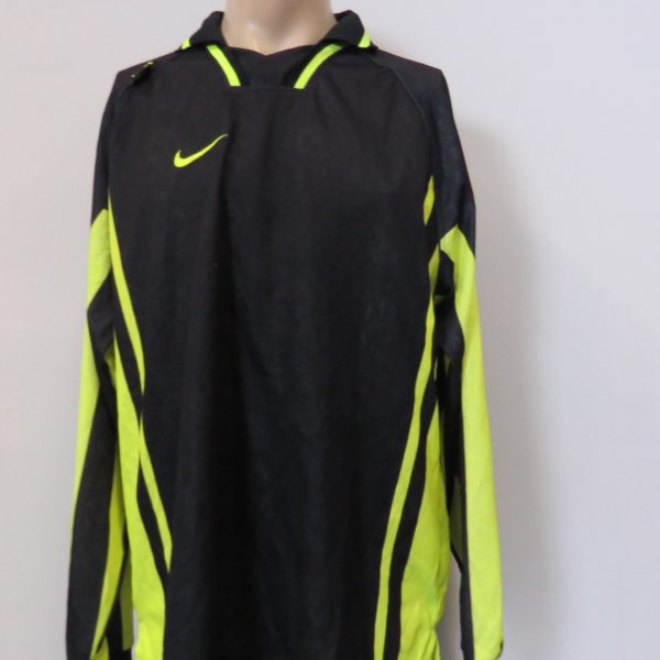 Vintage player issue Borussia Dortmund 1995-96 ls away training shirt Nike XL (8)