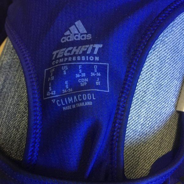 adidas blue sports bra XS (5)
