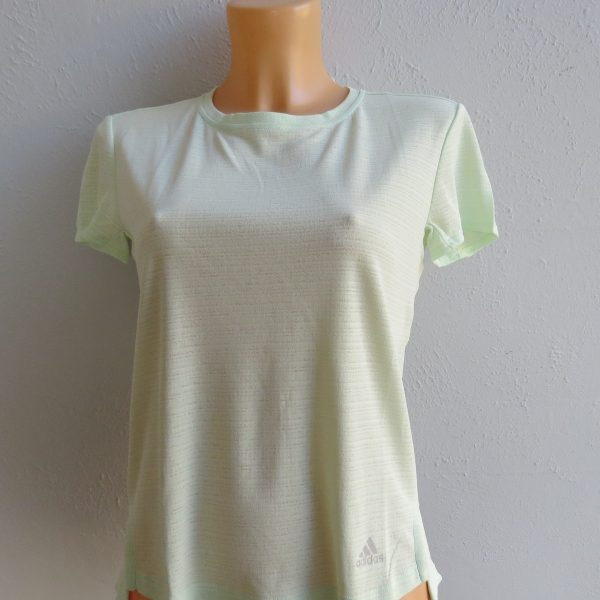 adidas green t-shirt S (3)