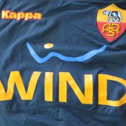 AS Roma 2010-11 third shirt Serie A Kappa Gara tight fitting size M ultra rare (3)