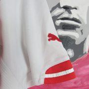 Arsenal 2014-15 home shirt Puma soccer jersey Chamberlain 15 size M (5)