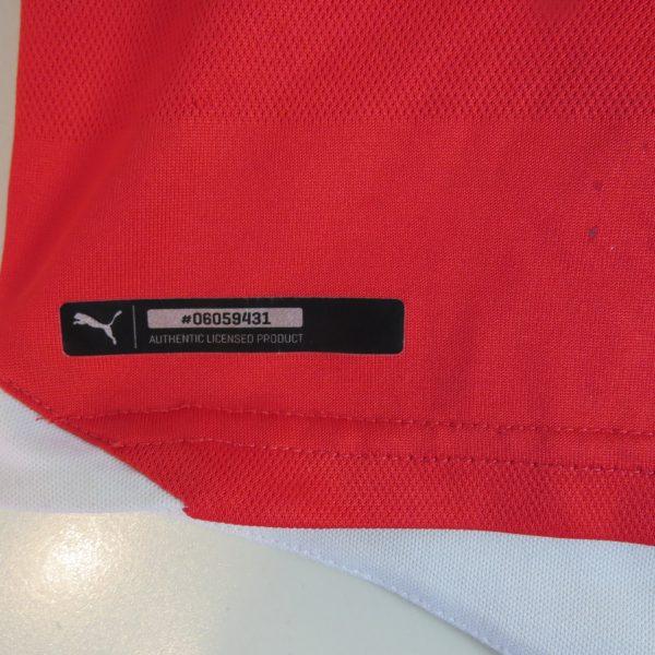 78e678bd8e5 Arsenal 2015-16 home shirt Puma soccer jersey size Boys L 152cm 3032 (5