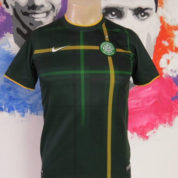 Celtic 2014-15 away shirt Nike jersey size 12-13 YRS 147-158cm Boys L (1)