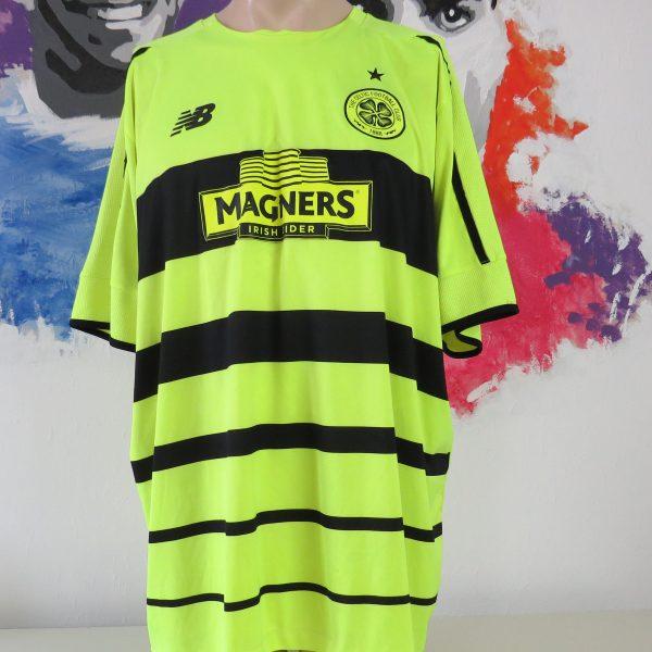 d43df2f6d Celtic 2015-16 third shirt New Balance soccer jersey size 4XL ...