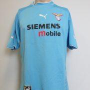 Player issue Lazio Roma 2002-03 home shirt Puma soccer jersey #15 size XL (2)