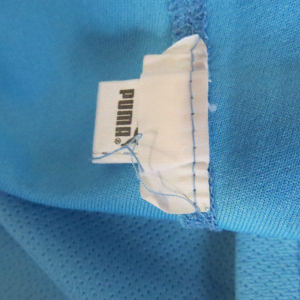 Player issue Lazio Roma 2002-03 home shirt Puma soccer jersey #15 size XL (6)