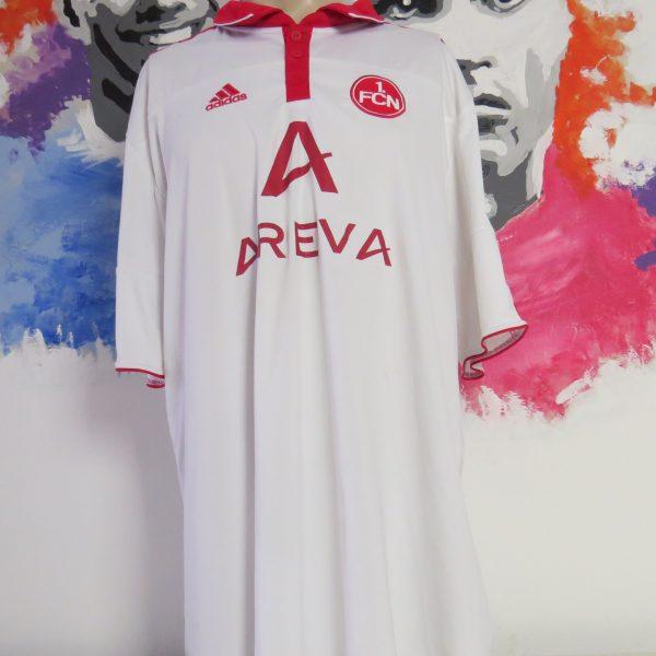 premium selection da205 aea37 Vintage 1 FC Nurnberg 2010-11 away shirt adidas soccer jersey trikot size  3XL