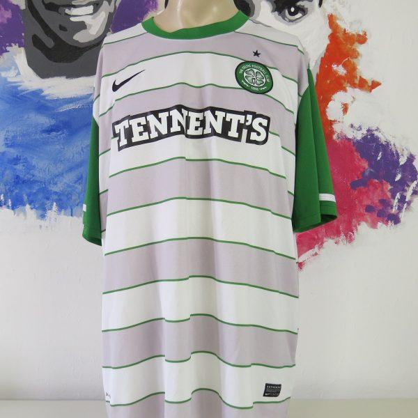 Vintage Celtic 2011-12 away shirt Nike soccer jersey size 3XL (1)