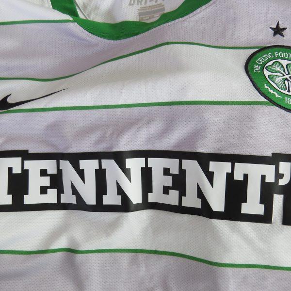 Vintage Celtic 2011-12 away shirt Nike soccer jersey size 3XL (5)