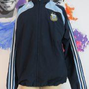 Argentina 2007-08 tracksuit jacket adidas soccer training top size M 4042 180cm (1)