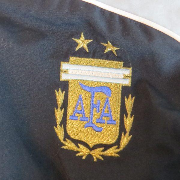 Argentina 2007-08 tracksuit jacket adidas soccer training top size M 4042 180cm (4)