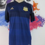 Argentina 2013-15 away shirt adidas soccer jersey size M World Cup 2014 (1)