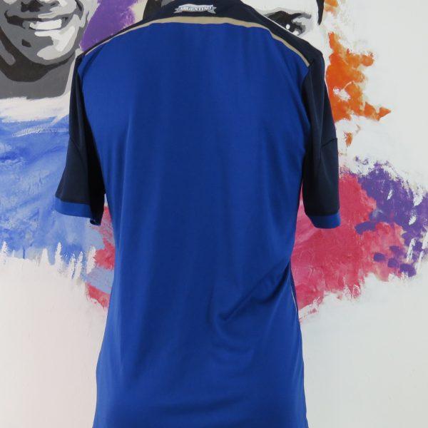 Argentina 2013-15 away shirt adidas soccer jersey size M World Cup 2014 (2)