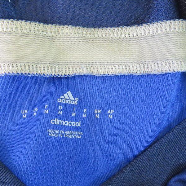 Argentina 2013-15 away shirt adidas soccer jersey size M World Cup 2014 (4)