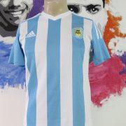 Argentina 2015-16 home shirt adidas jersey size Boys L 13-14Y 164cm (1)