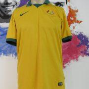 Australia 2014-15 home shirt Nike soccer jersey size M World Cup 2014 (1)