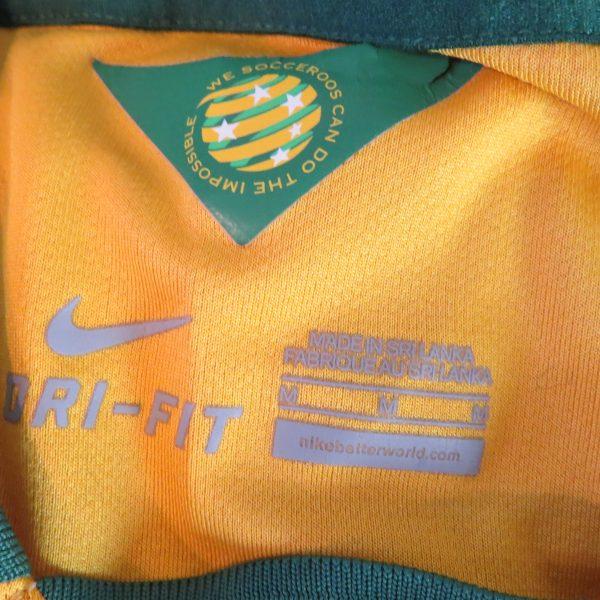 Australia 2014-15 home shirt Nike soccer jersey size M World Cup 2014 (3)