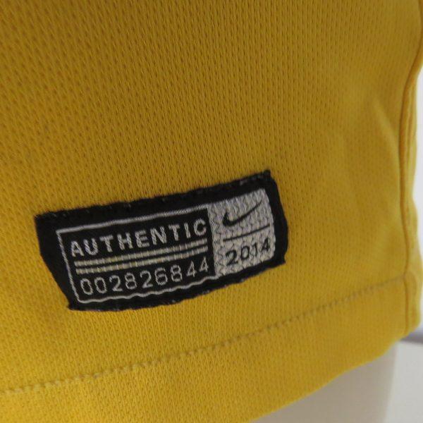 Australia 2014-15 home shirt Nike soccer jersey size M World Cup 2014 (6)