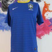 Brazil 2010-11 away shirt Nike Brasil soccer jersey size S World Cup 2010 (1)