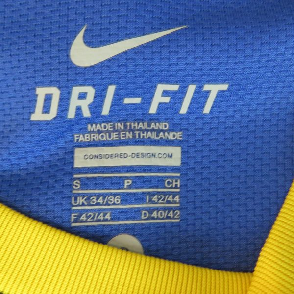Brazil 2010-11 away shirt Nike Brasil soccer jersey size S World Cup 2010 (2)