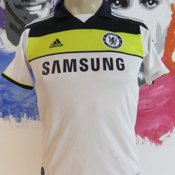 separation shoes d51aa c3afe Chelsea 2011-12 third shirt adidas soccer jersey size Boys M 11-12Y 152cm
