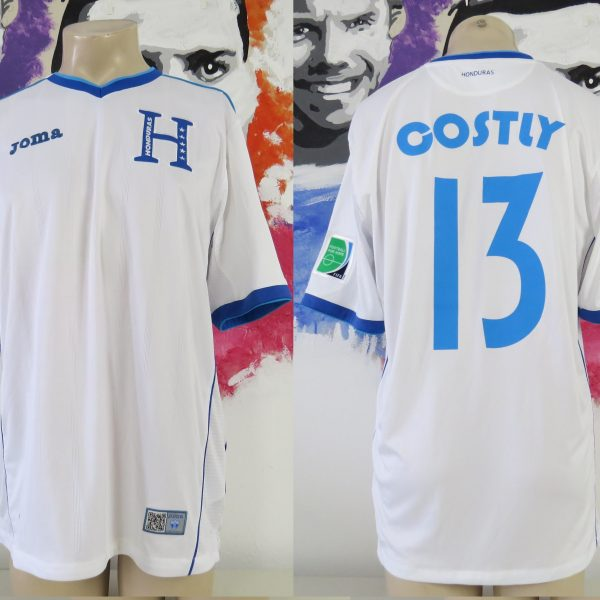 cozy fresh a80bd fec13 Honduras World Cup 2014 home shirt Joma soccer jersey Costly 13 size XL